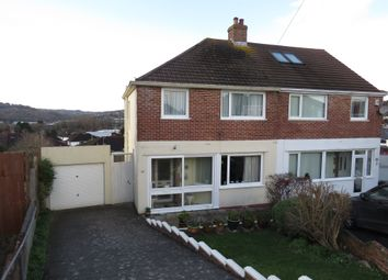 Thumbnail 3 bed semi-detached house for sale in The Knoll, Plympton, Plymouth