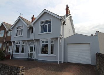 Thumbnail 4 bed semi-detached house for sale in Glyn Y Marl Road, Llandudno Junction