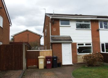 Thumbnail 3 bed property to rent in Somerton Road, Bolton