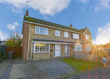 Thumbnail 3 bed semi-detached house for sale in Edinburgh Avenue, Werrington Village, Peterborough