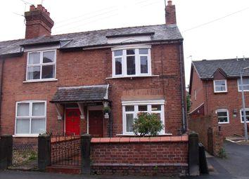 Thumbnail 2 bed end terrace house for sale in Trevor Street, Wrexham