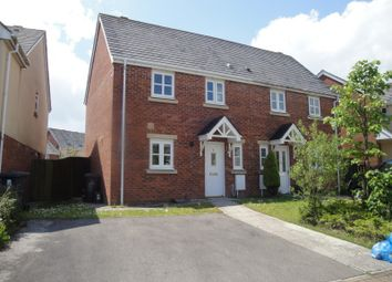 Thumbnail 3 bed semi-detached house to rent in Lakeside Avenue, Nantyglo, Ebbw Vale