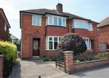 Thumbnail 3 bed semi-detached house for sale in Bembridge Road, Leicester