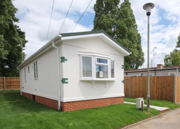 Thumbnail 2 bedroom mobile/park home for sale in East Hill Road, Knatts Valley, Sevenoaks
