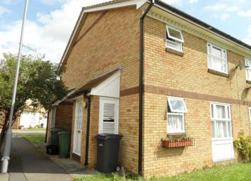 Thumbnail 1 bed maisonette to rent in Berrow Close, Luton