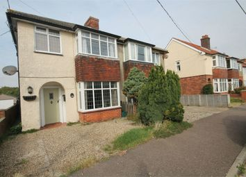 Thumbnail 4 bed semi-detached house for sale in Woodberry Way, Walton On The Naze