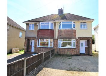 Thumbnail 3 bed semi-detached house for sale in Herschel Crescent, Oxford