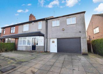 Thumbnail 4 bed semi-detached house for sale in Werrington Road, Bucknall, Stoke-On-Trent