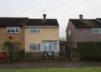 Thumbnail 2 bed semi-detached house to rent in Monmouth Drive, Glen Parva, Leicester