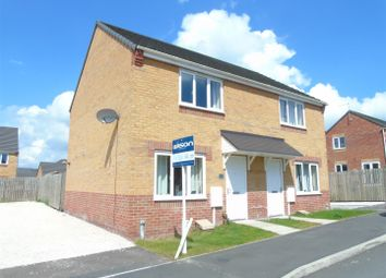 Thumbnail 2 bed semi-detached house for sale in Croft House Way, Bolsover, Chesterfield