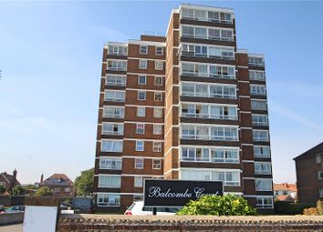 Thumbnail 2 bed flat for sale in Balcombe Court, Marine Parade, Worthing