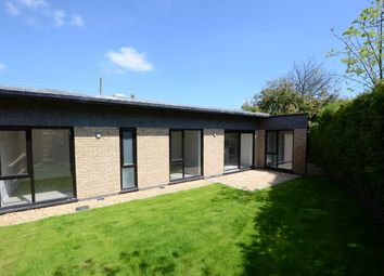 Thumbnail 2 bed detached bungalow to rent in Manor Road, Folksworth, Peterborough