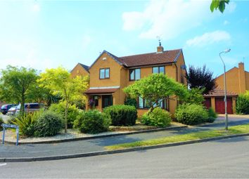 Thumbnail 4 bed detached house for sale in Elkstone Close, Derby