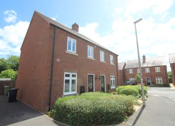 Thumbnail 2 bed semi-detached house to rent in Pearmain Close, Newport Pagnell, Bucks
