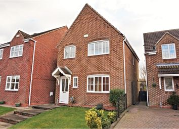 Thumbnail 3 bed detached house for sale in Clay Close, Swadlincote