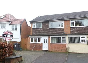 Thumbnail 3 bed semi-detached house for sale in Heathfield Road, Four Oaks, Sutton Coldfield