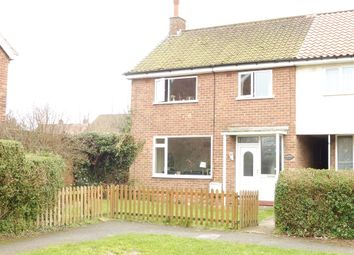 Thumbnail 3 bedroom end terrace house for sale in Dawnay Drive, Anlaby, Hull