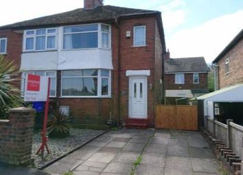Thumbnail 2 bed semi-detached house for sale in Brookland Avenue, Stoke-On-Trent, Staffordshire