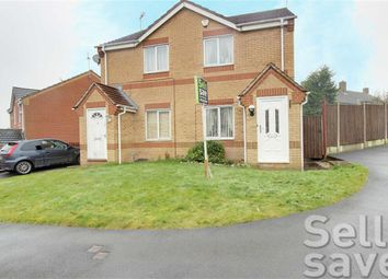 Thumbnail 2 bed semi-detached house for sale in Copenhagen Road, Chesterfield, Derbyshire