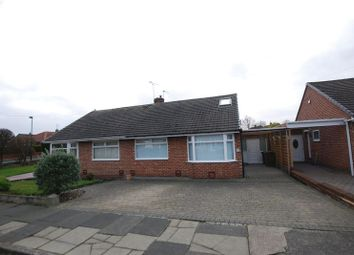 Thumbnail 2 bed semi-detached bungalow to rent in Cranwell Drive, Wideopen, Newcastle Upon Tyne