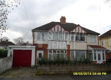 Thumbnail 4 bed semi-detached house to rent in Pendragon Road, Birmingham