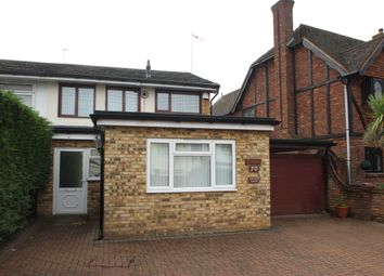 Thumbnail 4 bed semi-detached house to rent in Daws Heath Road, Benfleet