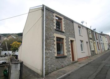 Thumbnail 2 bed end terrace house for sale in Rhiw Parc Road, Abertillery, Blaenau Gwent