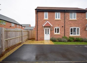 Thumbnail 2 bed semi-detached house for sale in Dewberry Court, Stenson Fields, Derby