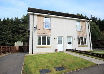Thumbnail 2 bed semi-detached house for sale in 68 Larchwood Drive, Milton Of Leys, Inverness.