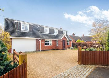 Thumbnail 3 bed detached house for sale in Kingsley Road, Crowton, Northwich
