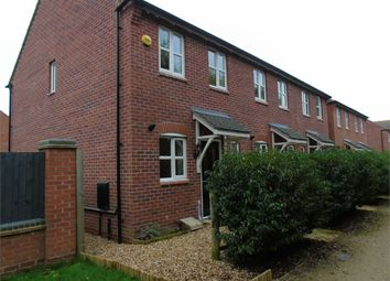 Thumbnail 2 bed end terrace house to rent in Otter Close, Ibstock, Leicestershire