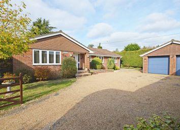 Thumbnail 4 bed detached bungalow for sale in St. Aubins Close, Four Marks, Alton, Hampshire