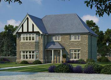 Thumbnail 4 bed detached house for sale in Langley Grange, Wakefield Road, Scissett, Huddersfield