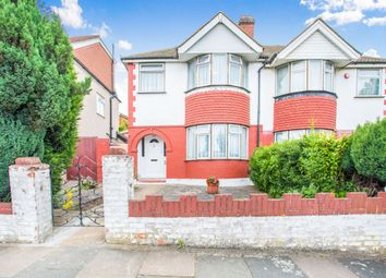 Thumbnail 3 bed semi-detached house for sale in Whitton Avenue West, Greenford