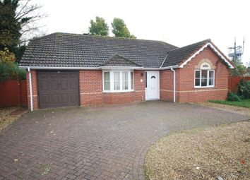Thumbnail 3 bed detached bungalow for sale in Hallgate, Holbeach, Spalding