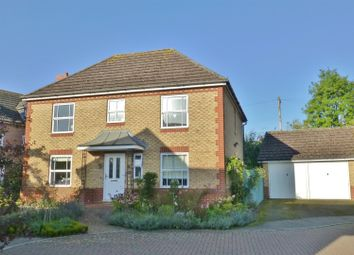 Thumbnail 4 bed detached house for sale in Gilmore Close, Oakham