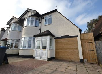 Thumbnail 4 bed semi-detached house to rent in Hook Rise North, Tolworth, Surbiton