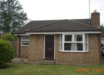 Thumbnail 2 bedroom bungalow to rent in Bradegate Drive, Peterborough