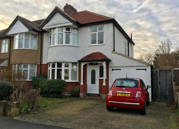 Thumbnail 3 bed semi-detached house for sale in Lynwood Drive, Worcester Park