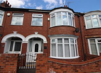 Thumbnail 3 bed terraced house for sale in Faraday Street, Hull