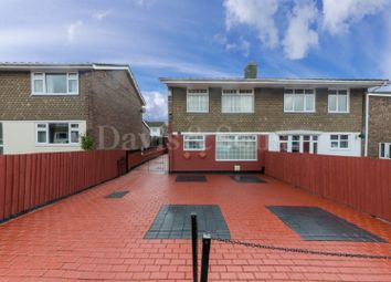 Thumbnail 3 bed semi-detached house for sale in Court Gardens, Rogerstone, Newport.