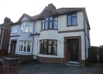 Thumbnail 3 bedroom semi-detached house to rent in Wroxham Road, Ipswich