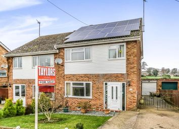 Thumbnail 3 bed semi-detached house for sale in Steele Road, Wellingborough, Northamptonshire, England