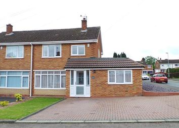 Thumbnail 3 bed semi-detached house for sale in Amberley Way, Streetly, Sutton Coldfield