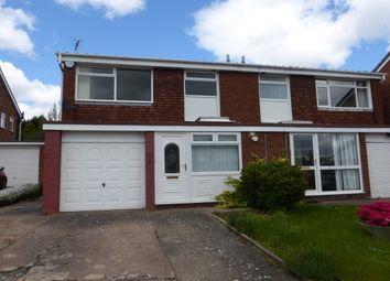Thumbnail 3 bed semi-detached house to rent in Crookham Close, Harborne, Birmingham