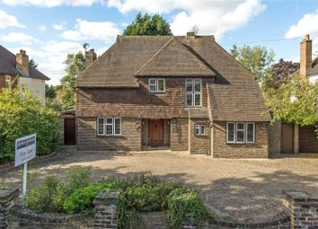 Thumbnail 4 bed detached house for sale in Manor Road South, Esher, Surrey