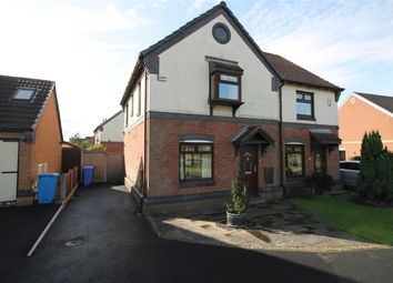 Thumbnail 3 bed semi-detached house for sale in Eastbury Close, Widnes