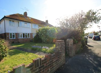 Thumbnail 3 bed semi-detached house to rent in Ardingly Drive, Goring-By-Sea, Worthing