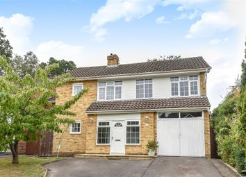 Thumbnail 4 bed detached house for sale in Grange Avenue, Crowthorne, Berkshire