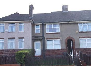 Thumbnail 3 bed terraced house to rent in Wordsworth Avenue, Southey Green, Sheffield